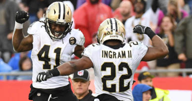 Kamara and Ingram are the very definition of healthy competition