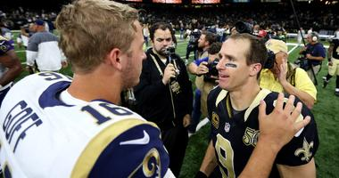 Could Saints vs Rams be as simple as Brees vs Goff?