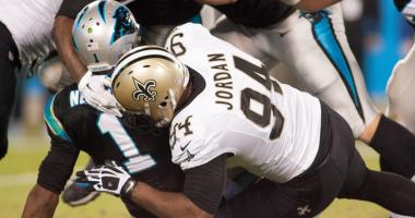 Saints DE Cam Jordan