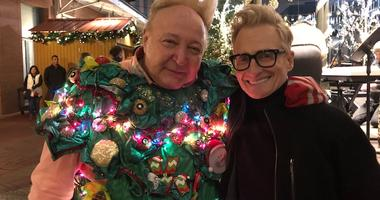 """Watch: Vince Vance sing """"All I want for Christmas is you"""" for Scoot"""