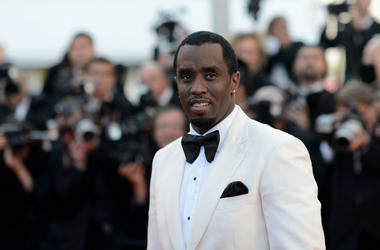 Sean Combs attends the 'Killing Them Softly' Premiere during 65th Annual Cannes Film Festival at Palais des Festivals