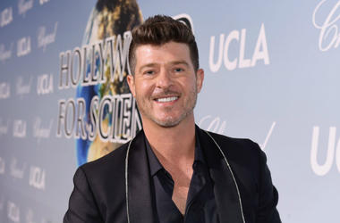 "Robin Thicke drops first track of 2019, ""That's What Love Can Do"""