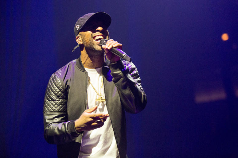 Daniel Daley of DVSN during the Summer Sixteen tour at United Center on October 5, 2016, in Chicago, Illinois
