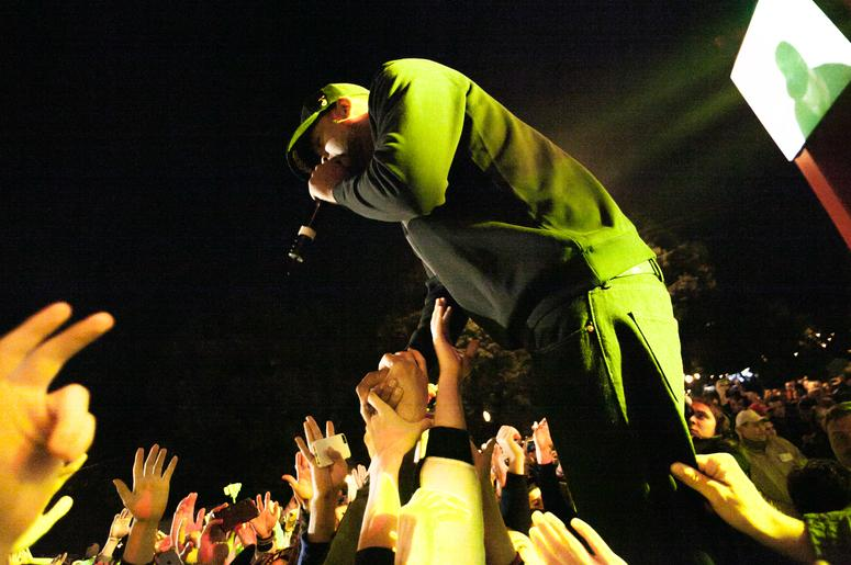 Method Man from Wu Tang Clan Performs in Moscow