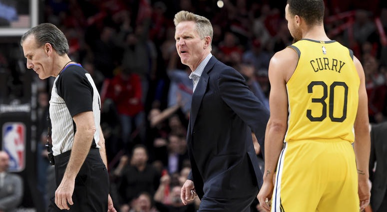 Kerr fined $25,000 for tirade against referee