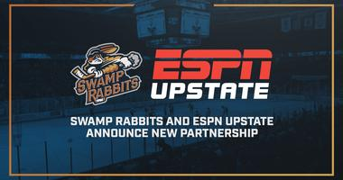 Swamp Rabbits Partner with ESPN Upstate