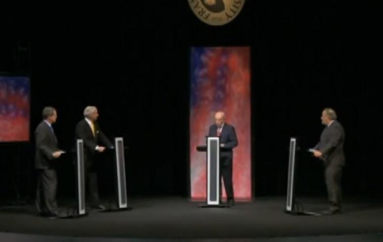 McMaster & Smith debate in Florence SC