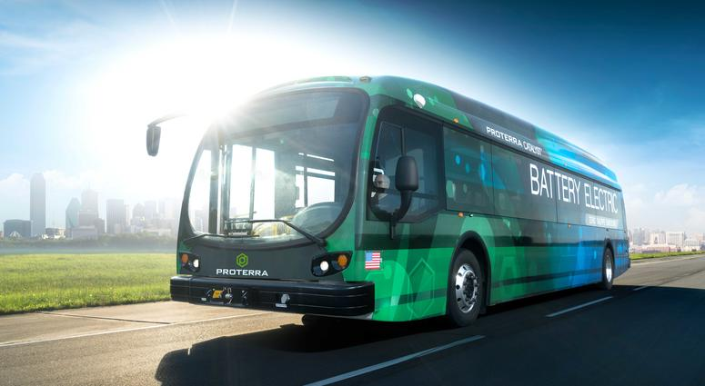 Proterra battery electric bus