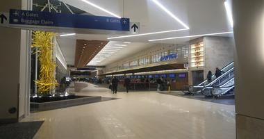 GSP Airport ticketing area