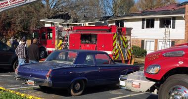 Apartment Fire In Anderson Co.
