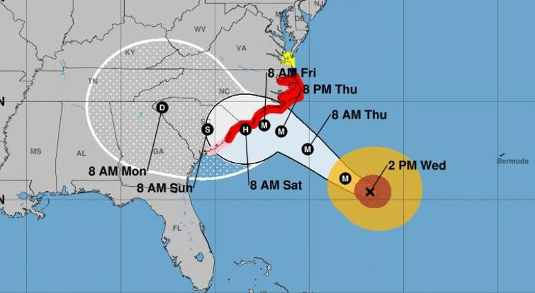 Hurricane Florence: North Carolina residents urged to leave
