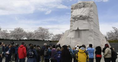 Martin Luther King National Monument in Washington DC