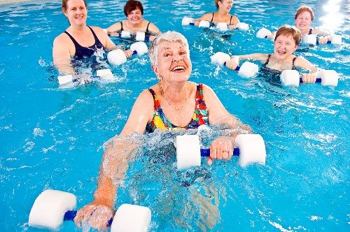 Aquatic Exercise Effective for Patients with Knee Pain - SimpleTherapy