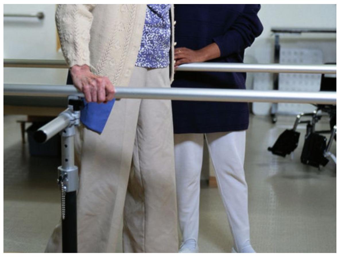 a senior in Hip rehab