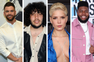 Dylan Scott, Benny Blanco, Halsey, and Khalid