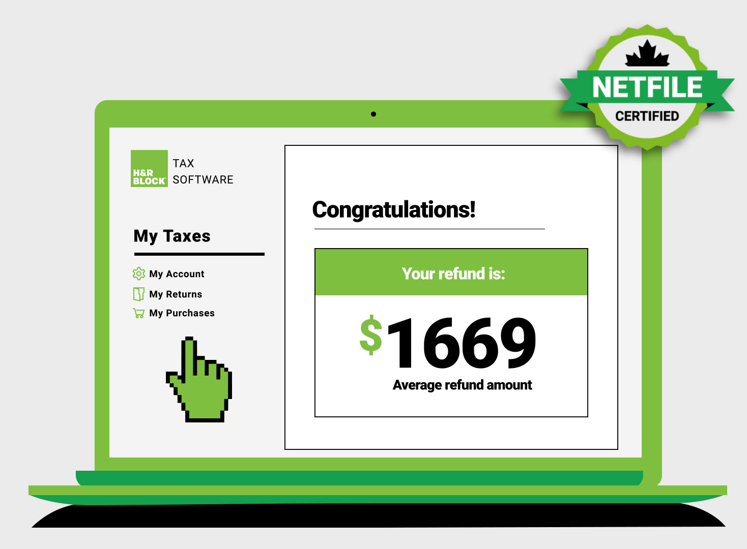 H&r block login to my account