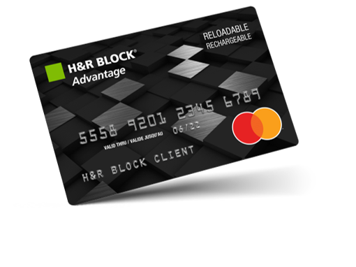 H&R Block Advantage Prepaid Mastercard - H&R Block Canada