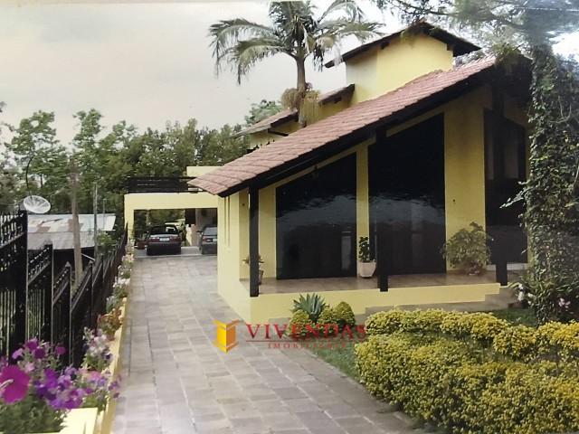 Vista Frontal da Casa