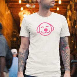 Product: Unisex Dog Logo T-Shirt