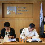 Galeria  Firman El Colef y CONAPO  convenio de colaboración