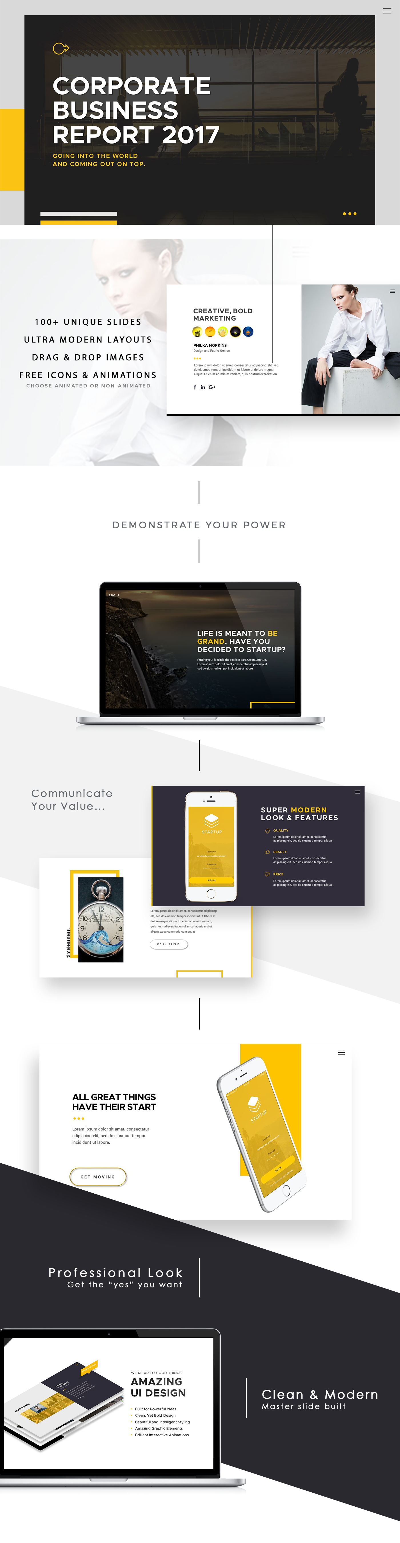 startup pitch deck powerpoint presentationbryant_design, Presentation templates