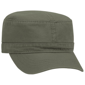 Superior Garment Washed Cotton Twill Military Style Caps