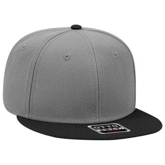 Wool Blend Flat Visor Pro Style Snapback Caps