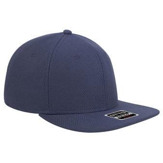 Cool Comfort Polyester Square Flat Visor Pro Style Snapback Caps