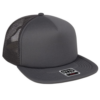 Polyester Foam Front Square Flat Visor Pro Style Snapback Caps