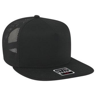 Superior Cotton Twill Flat Visor Pro Style Mesh Back Snapback Caps