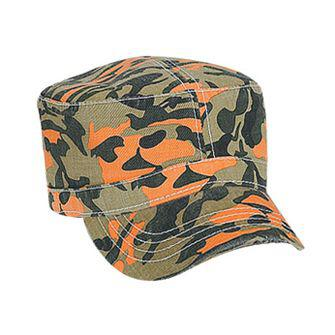 Camouflage Superior Garment Washed Cotton Twill Military Style Caps
