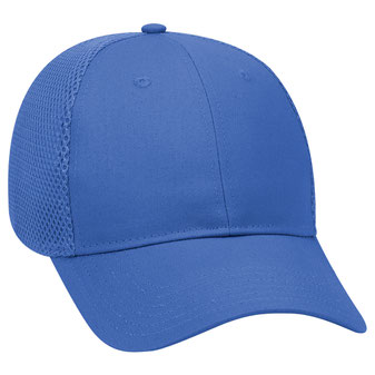 """""""OTTO COMFY FIT"""" Cotton Twill w/ Polyester Air Mesh Back 6 Panel Low Profile Baseball Cap"""