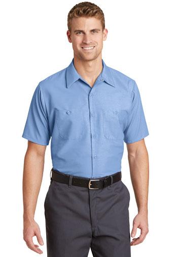 Red Kap ®  - Short Sleeve Industrial Work Shirt.  SP24