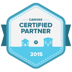 Canvas Certified Partner logo