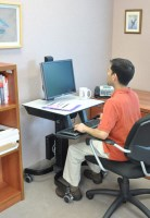 Ergotron WorkFit-C Single LD Sit-Stand