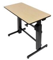 Ergotron WorkFit-D Sit-Stand Desk