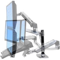 Ergotron LX Dual Stacking LCD Arm