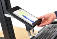 Ergotron Tablet/Doc Holder for Workfit-S