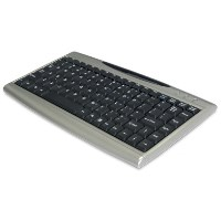 SolidTek Compact Keyboard with USB Hub