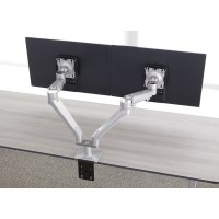 Workrite Willow Dual-Wide Arm Clamp-SLV
