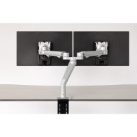 Workrite Willow Dual Monitor Arm C-Clamp