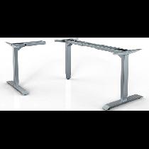 HAT 3-Leg Adj High Ht L-Unit Table Frame