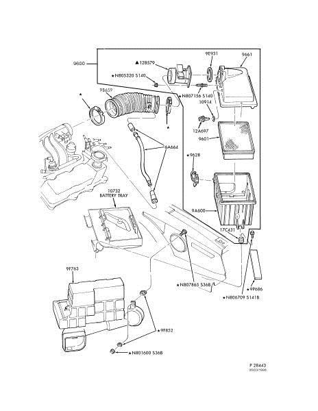 1998 F150 Mass Air Flow Sensor