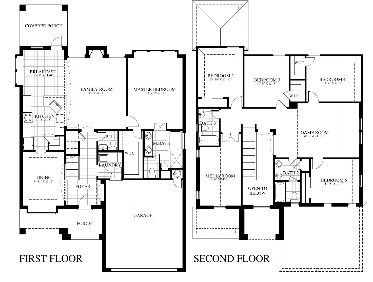 Plan 2160 Mc Saratoga Homes Austin