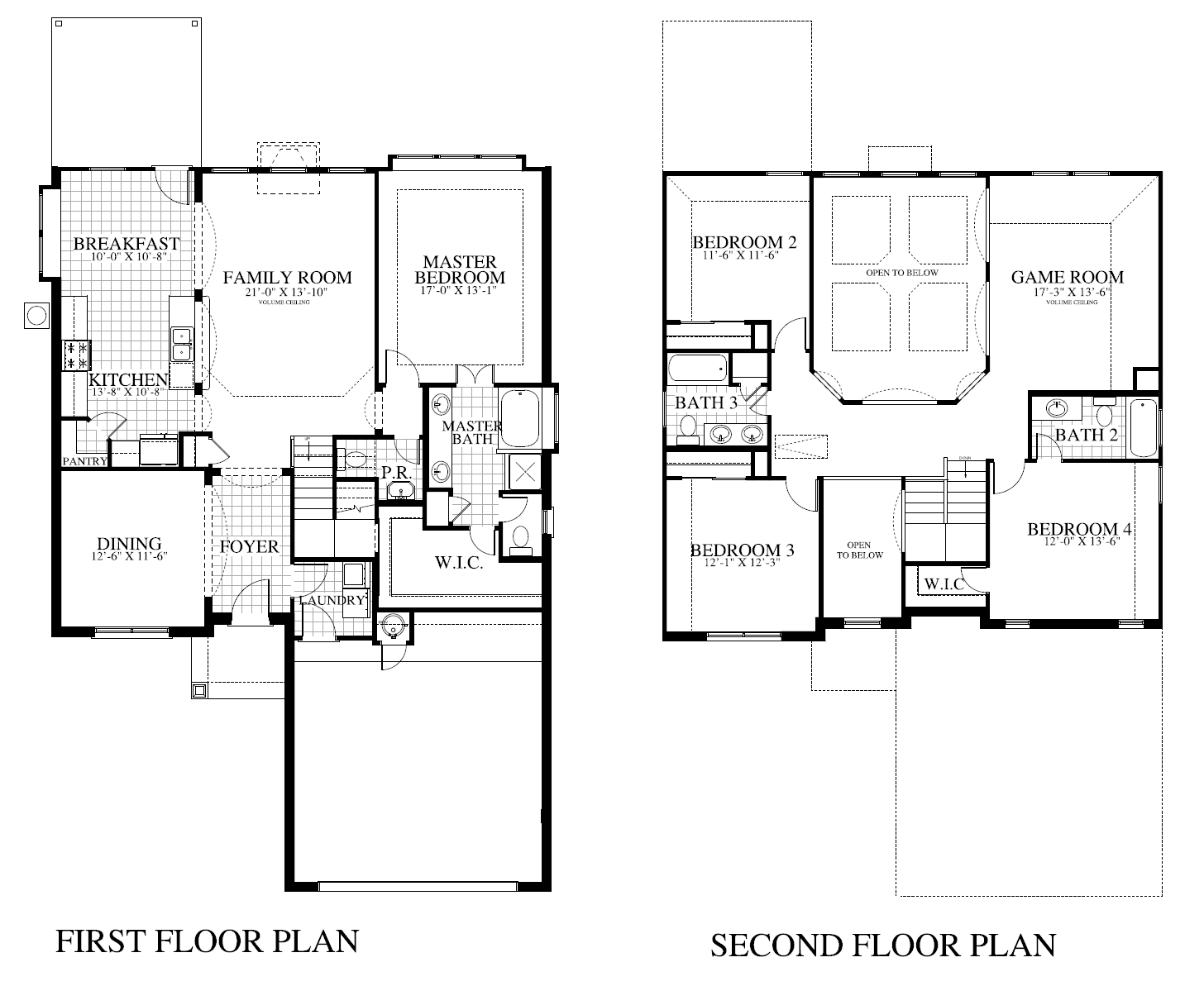 Plan 2434c Saratoga Homes Austin