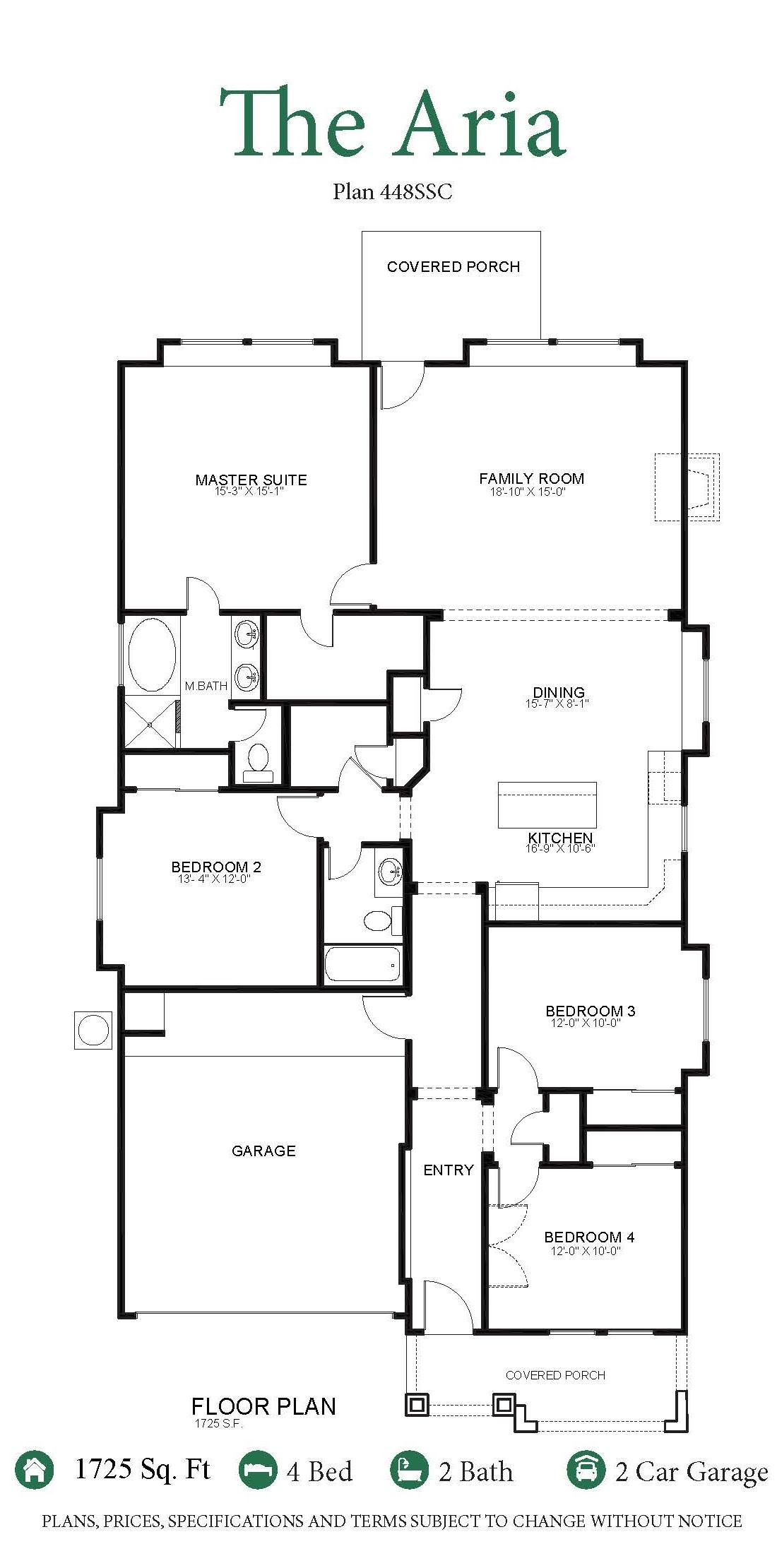 Aria saratoga homes el paso for Saratoga homes floor plans