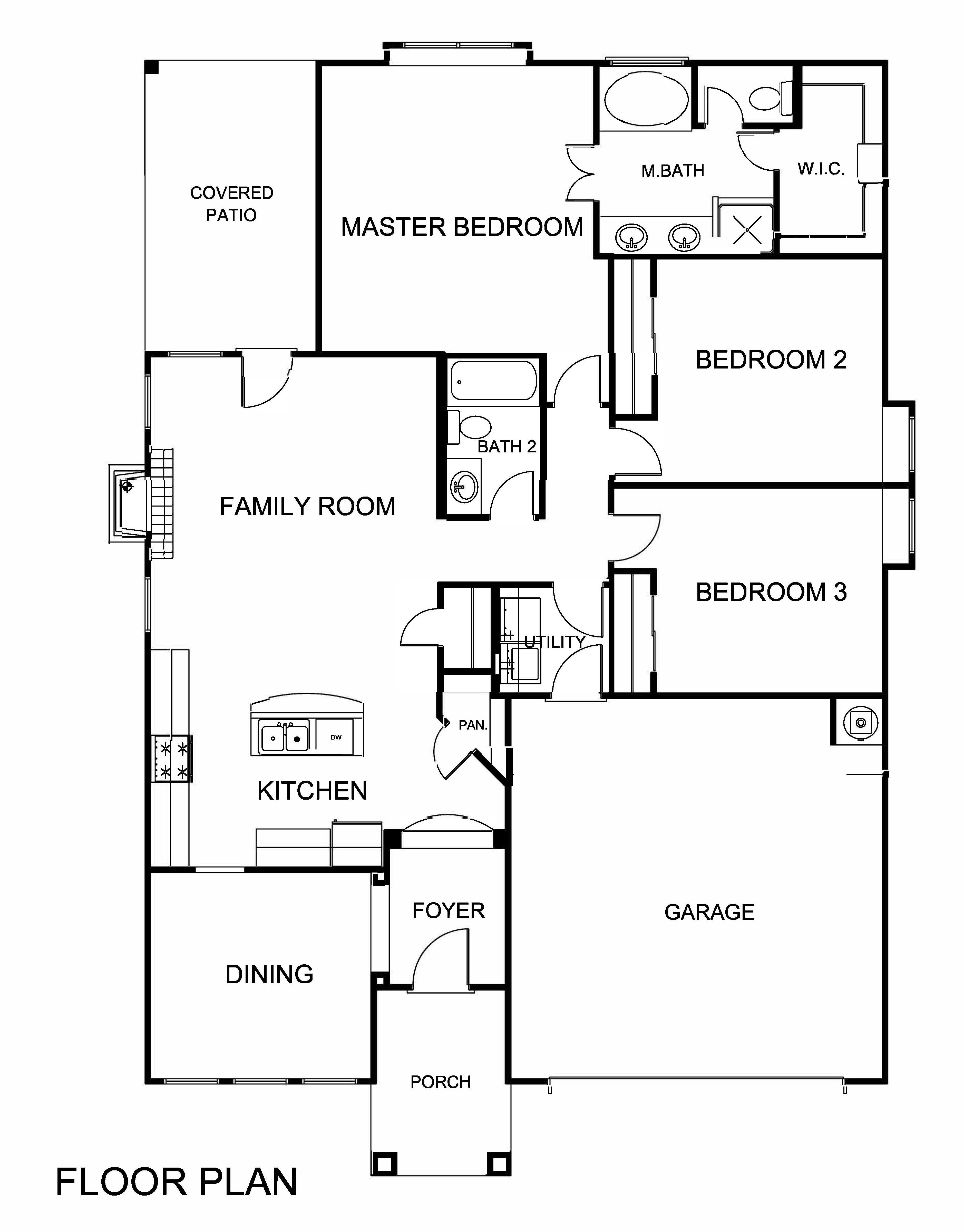 Elise saratoga homes el paso for Saratoga homes floor plans