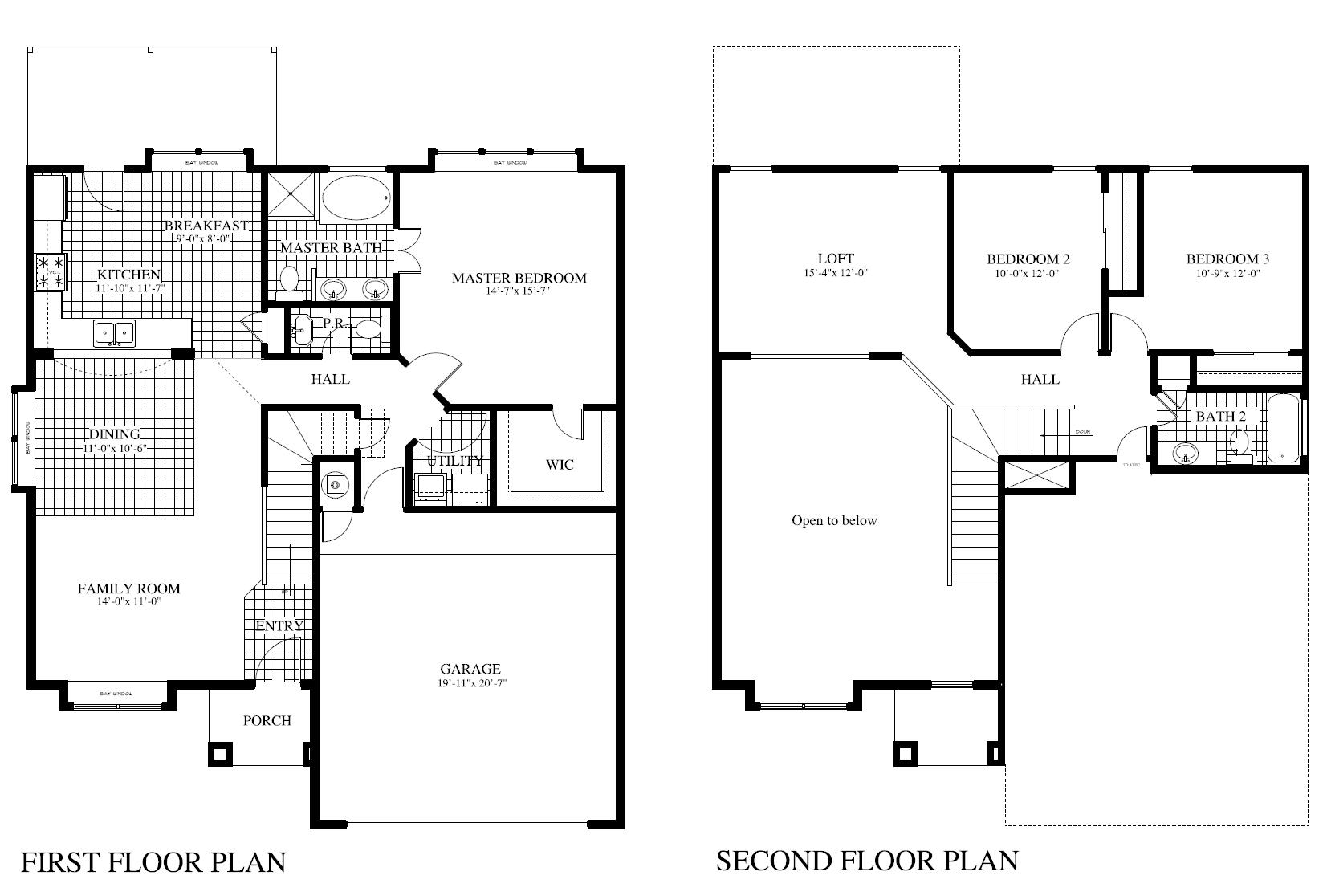 Plan 420 b saratoga homes killeen for Saratoga homes floor plans