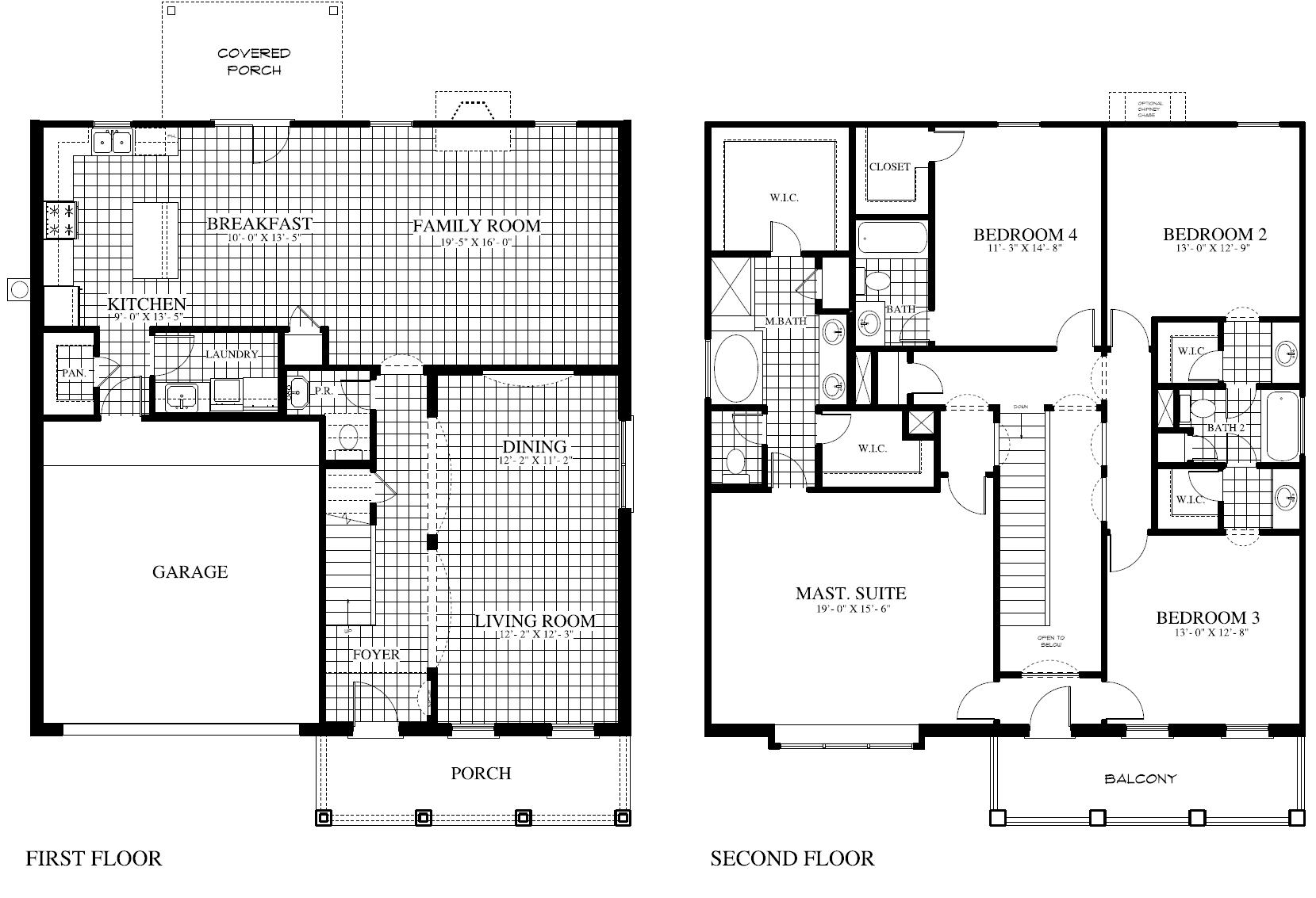 Plan 499 Nb Saratoga Homes Killeen