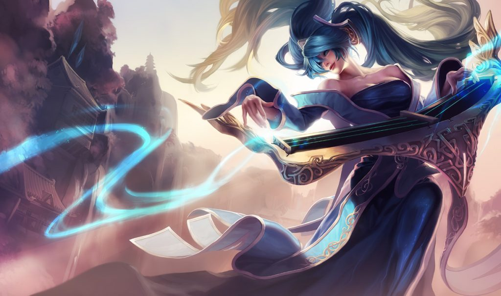 Sona, for those who don't play LoL